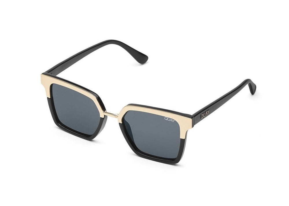 Side view on white background of Upgrade sunglasses