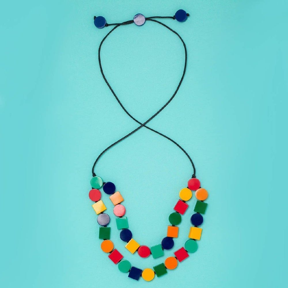 Fiesta Double Necklace
