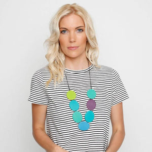 Wonderland Flat Disc Necklace