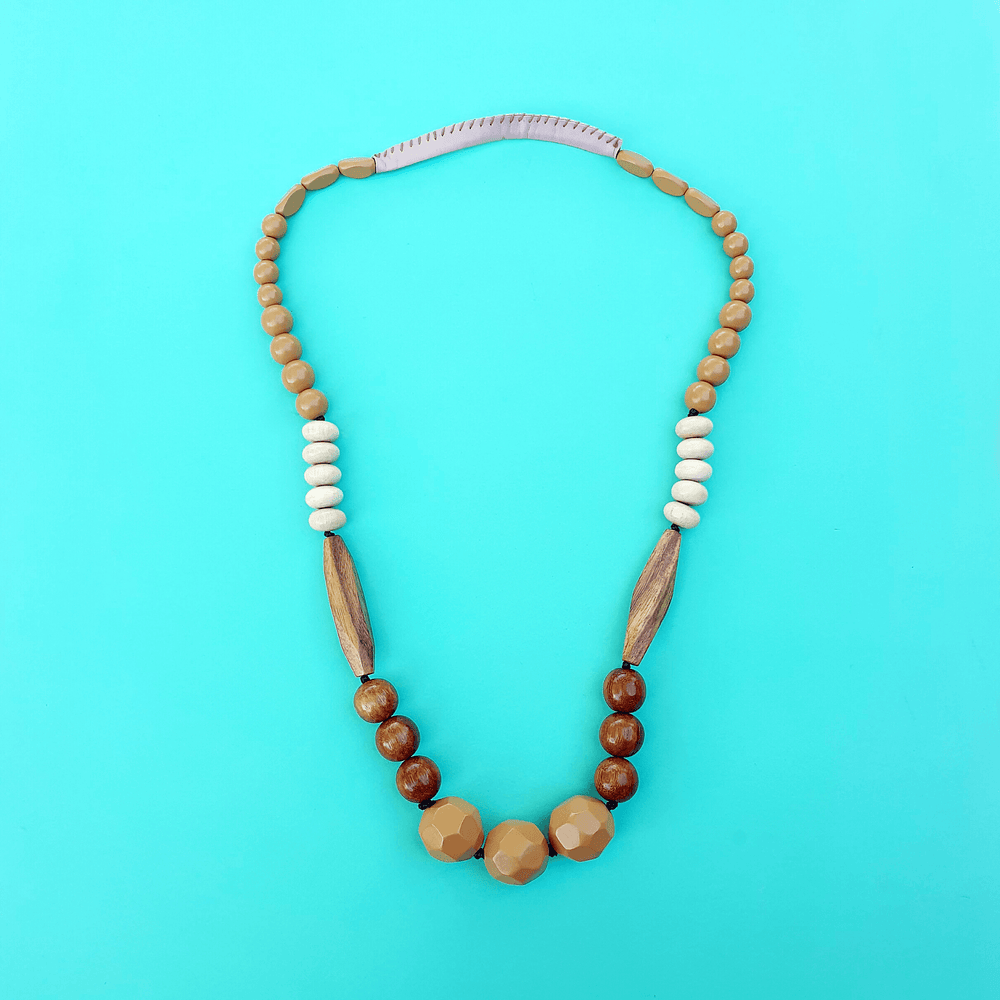 Serene Drop Necklace Butterscotch
