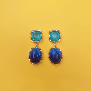 Sofia Earrings Blue