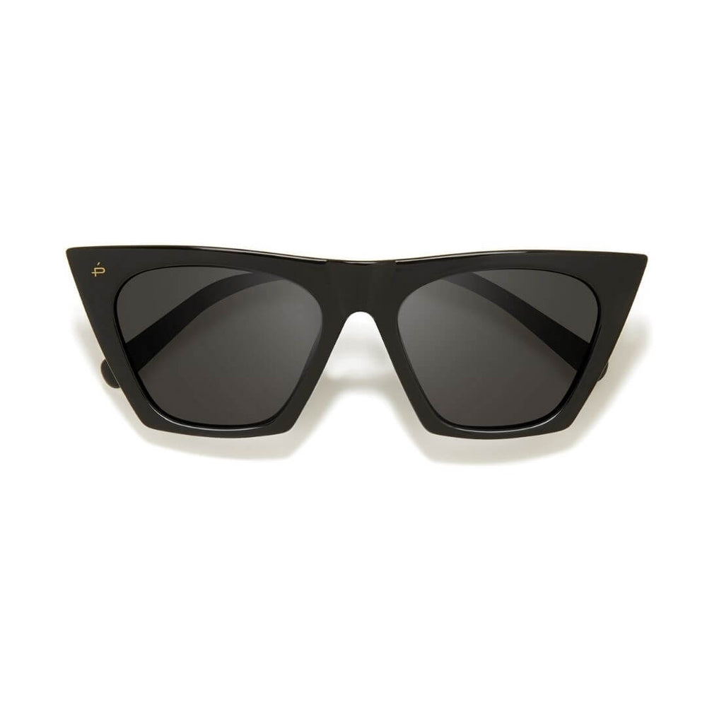 The Victoria Sunglasses Caviar Black