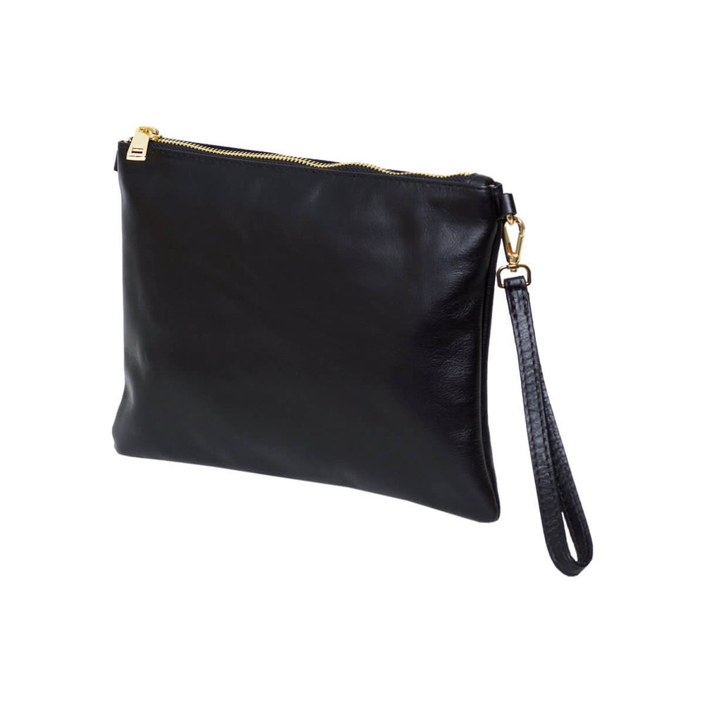 Tully Clutch Bag Black