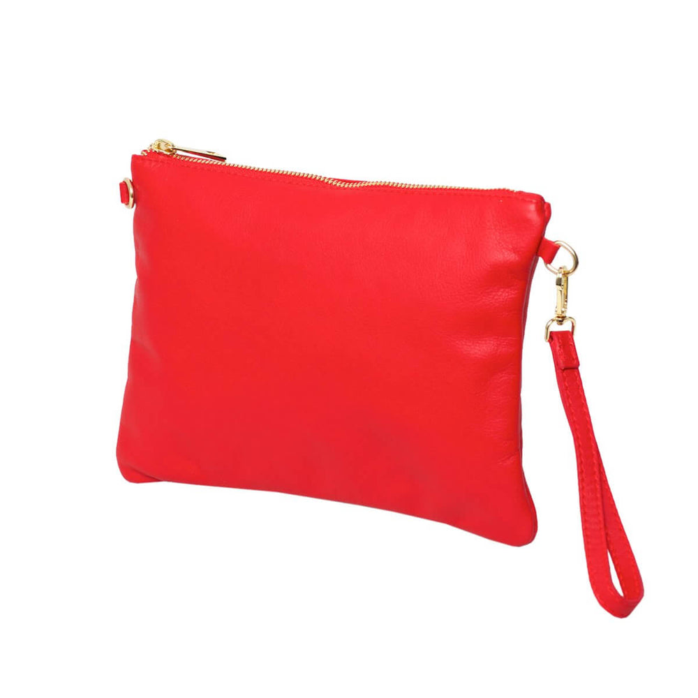 Tully Red Clutch Bag