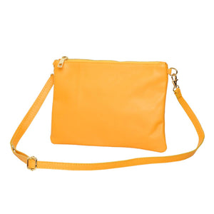 Tully Clutch Yellow Bag