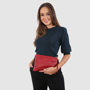 Tully Clutch Bag Red
