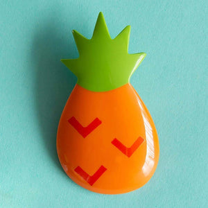 Tutti Frutti Pineapple brooch