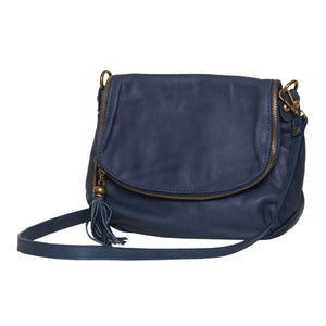 Vasarino Leather Bag Jeans
