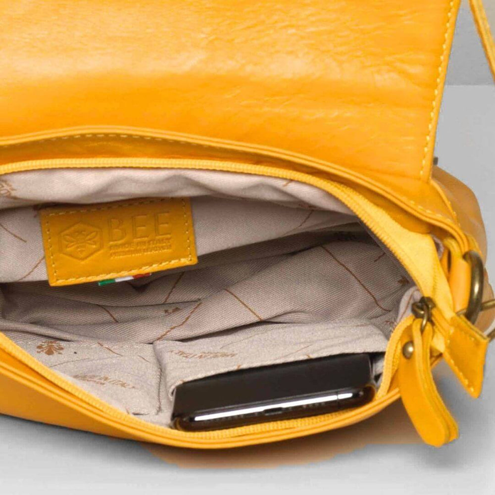 Vasarino Leather Bag Mustard