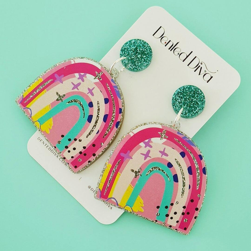 Wonderland Rainbow Earrings