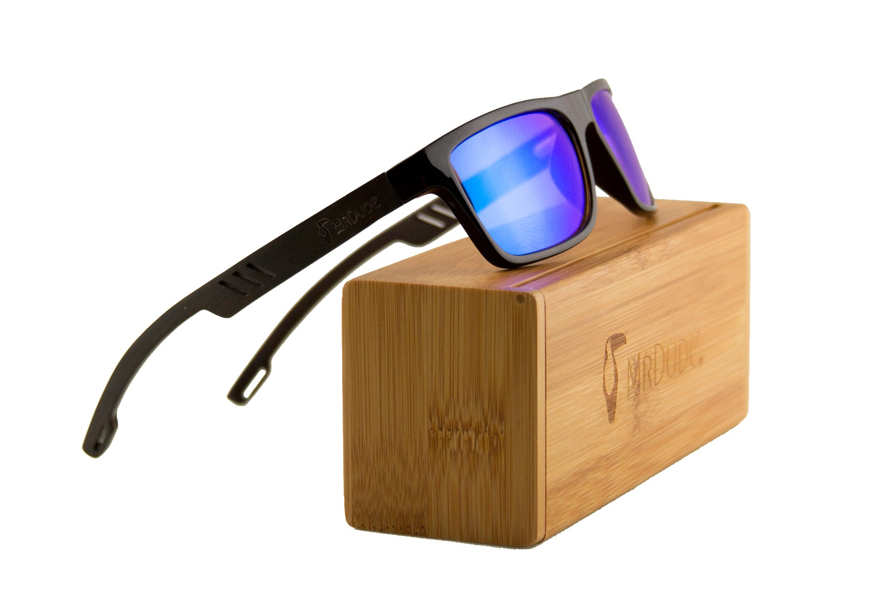 "Ice Blue ""Bird"" Polarized Sunglasses"
