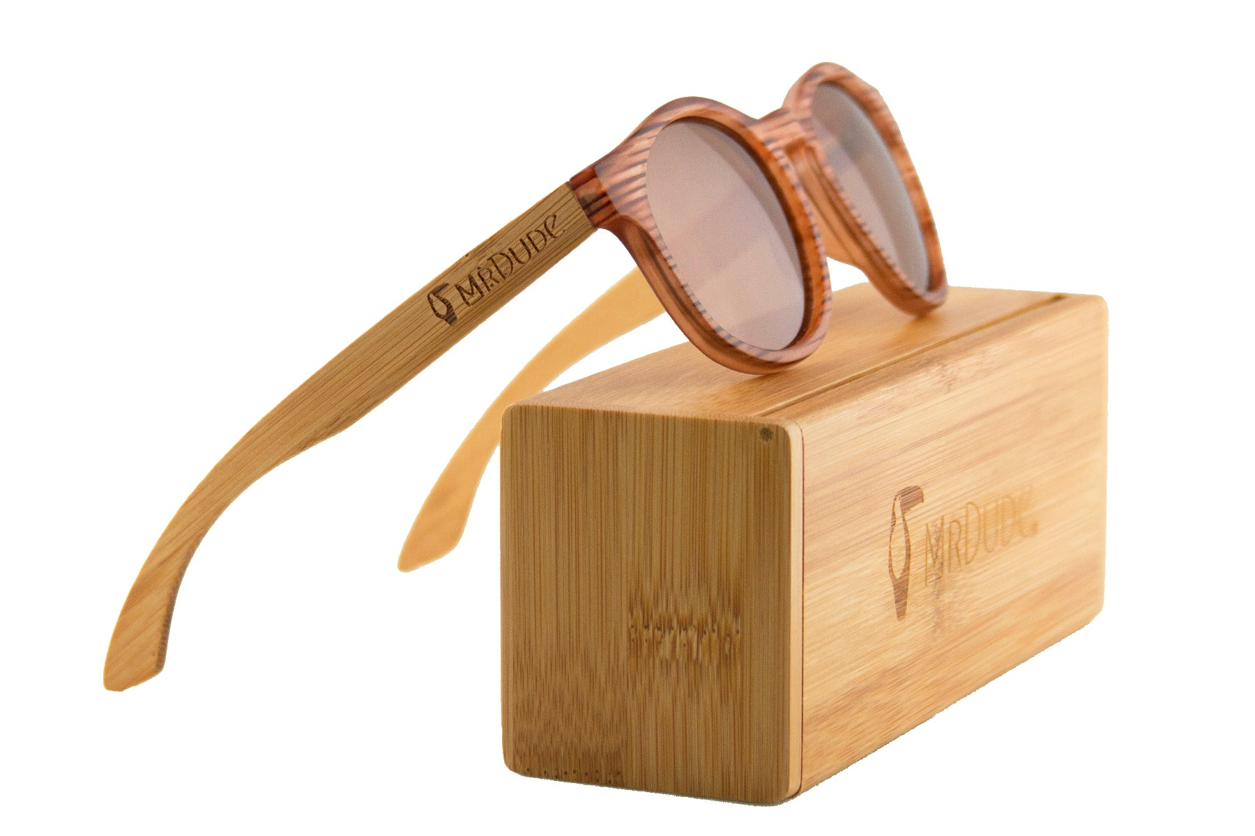 Stripe Polarized Eco-Friendly Sunglasses