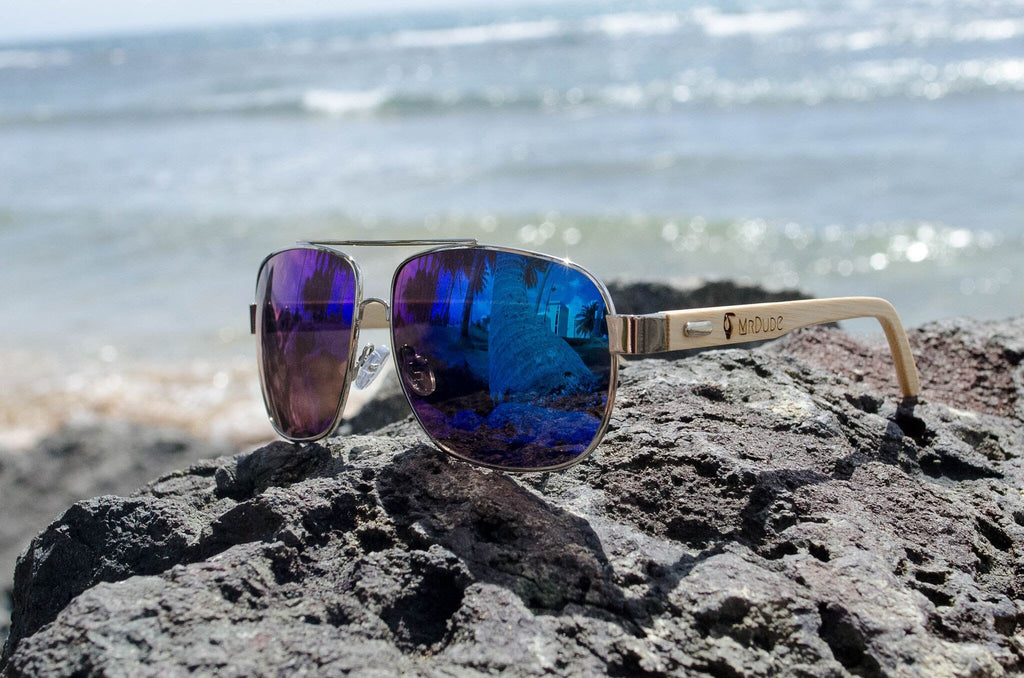 "Blue ""Aviator"" Sunglasses"