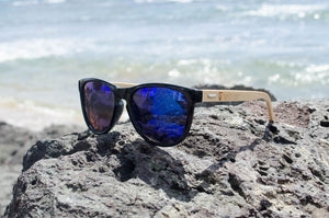 Blue Bamboo Eco-Friendly Sunglasses