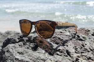 Brown Bamboo Eco-Friendly Sunglasses