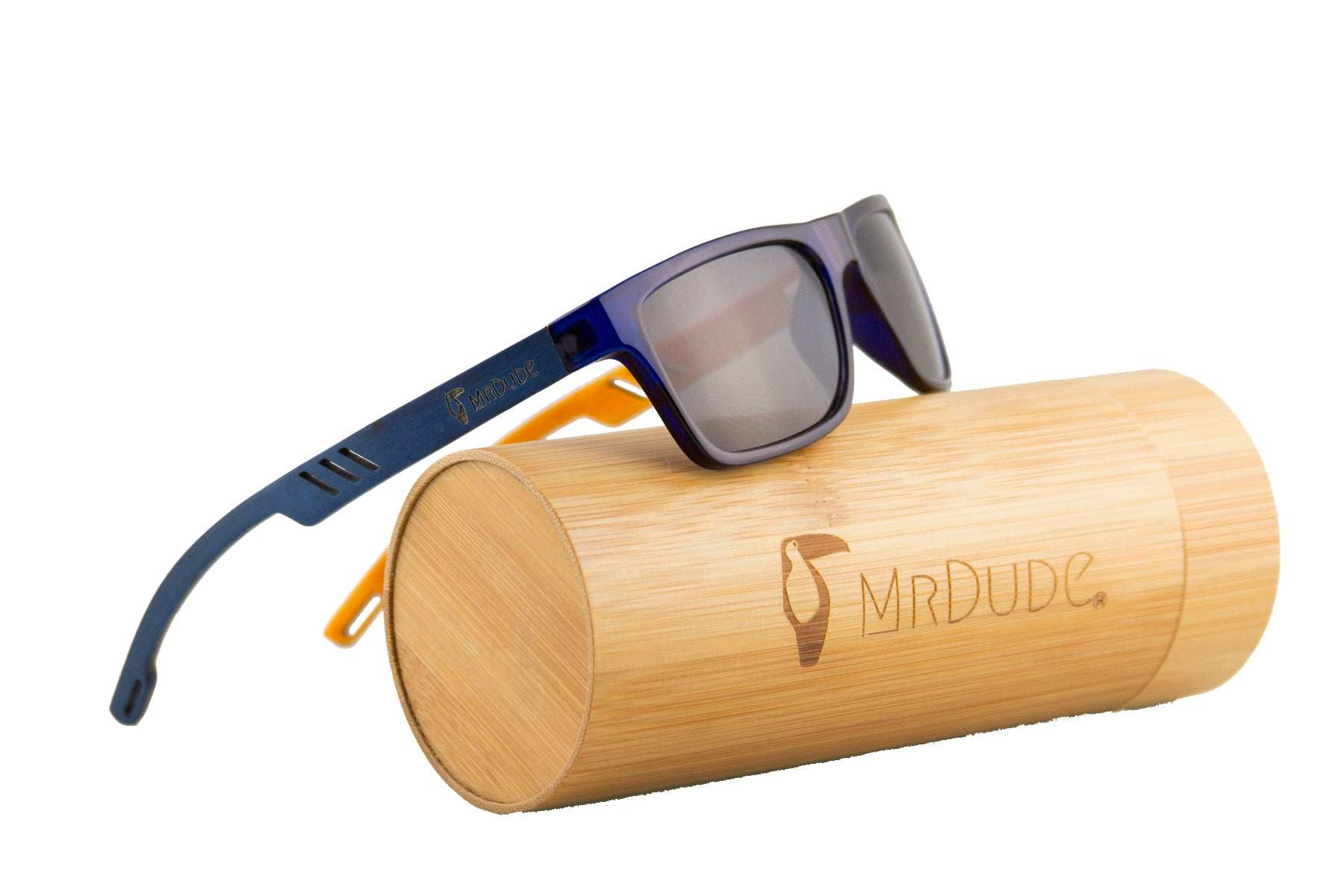 "Blue ""Bird"" Polarized Sunglasses"