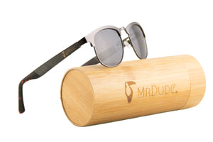 """The M.I."" Metal Polarized Sunglasses"