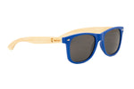 "Blue ""Wayfarer"" Polarized Eco-Friendly Sunglasses"