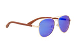 "Blue ""Aviator"" Polarized Sunglasses"
