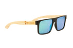 "Green ""Square"" Polarized Eco-Friendly Sunglasses"