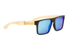 "Blue ""Square"" Polarized Eco-Friendly Sunglasses"