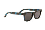 "Black/Blue ""Adventure II"" Bamboo Polarized Sunglasses"