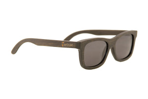"Brown ""Adventure"" Polarized Bamboo Sunglasses"