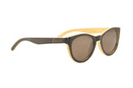"Black ""Twisted"" Polarized Bamboo Sunglasses"