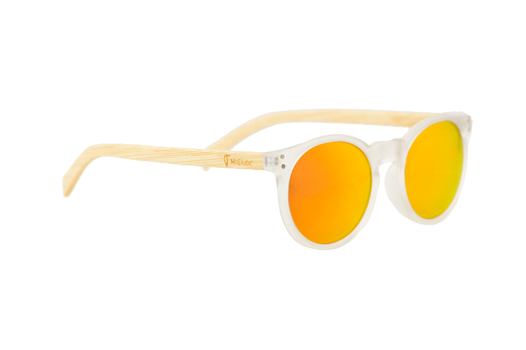 """Las Girasol"" Polarized Eco-Friendly Sunglasses"
