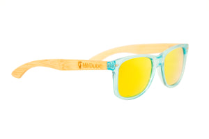 "Orange ""Miami"" Polarized Eco-Friendly Sunglasses"