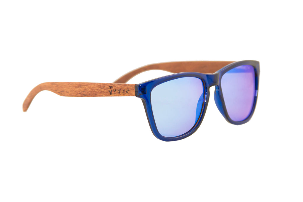 Ice Blue Polarized Sunglasses