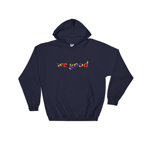 rainbow we goody (navy)