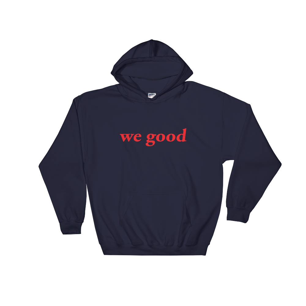 we goody (navy & red)