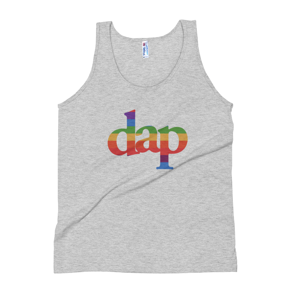 dap tank top (athletic gray)