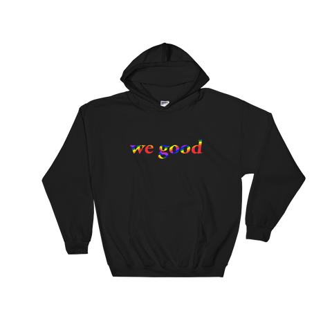 rainbow we goody (black)