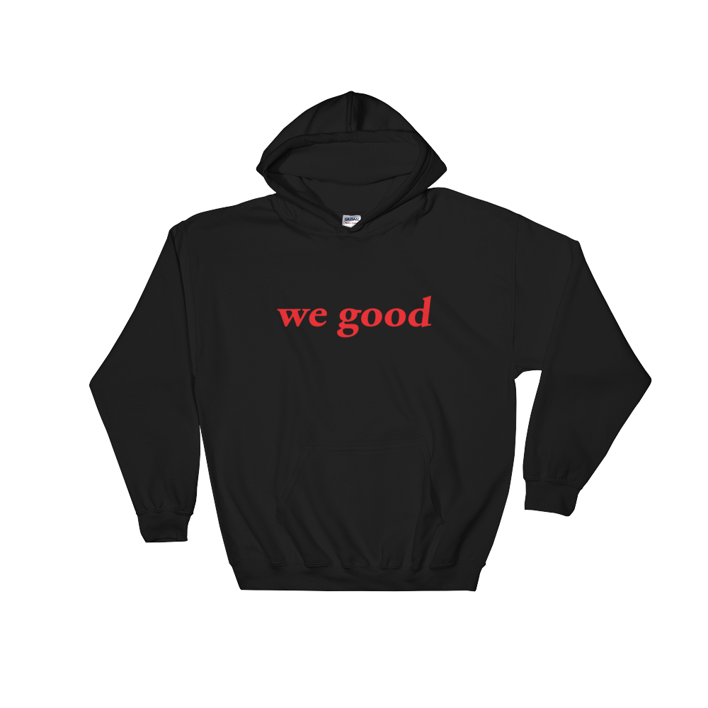 we goody (black & red)