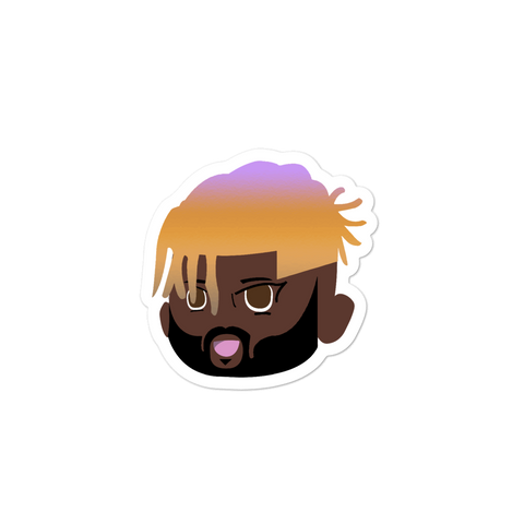 blonde lavender dap stickers