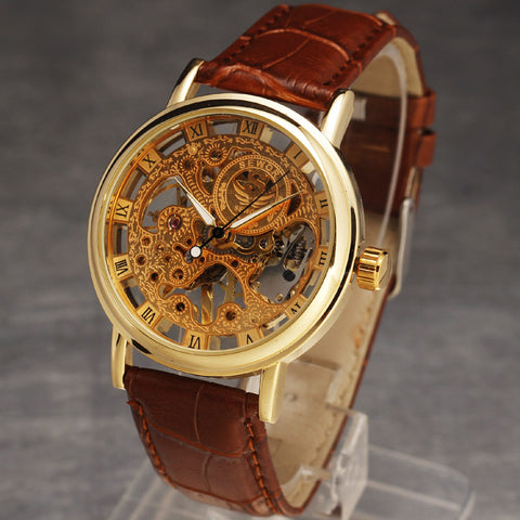 """Eagle""  Mens Skeleton Watch - kngwear"