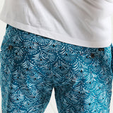 """Coral Bliss"" Mens Summer Shorts"