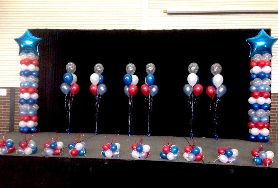 Event Package 4 -2 x Extra Large Balloon Columns & Balloon Arrangements