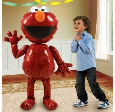 "AirWalkers - Elmo Foil 54"" Tall"