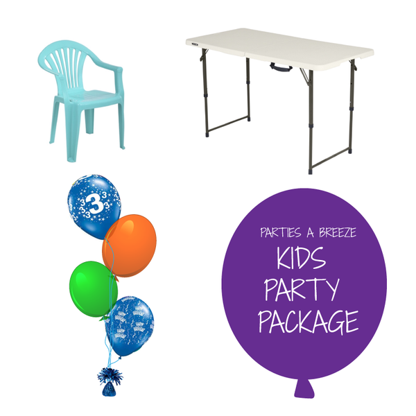 Kids Mini Party Package - 10 Children