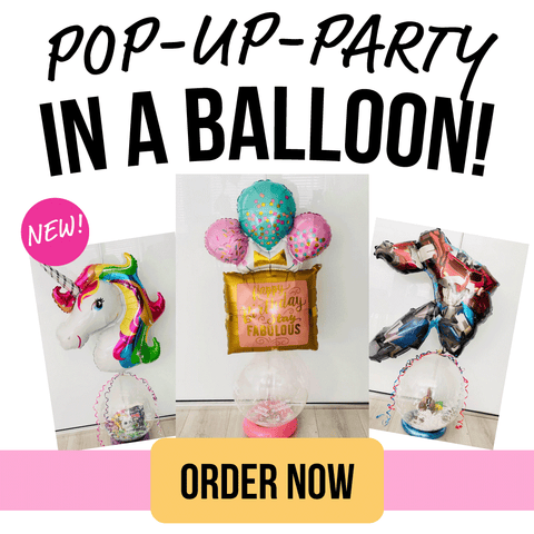 NEW! POP UP PARTY in a Balloon