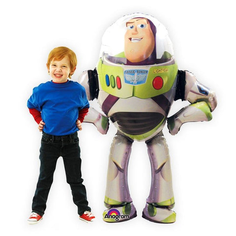 "AirWalkers - Buzz Lightyear Foil 62"" Tall"