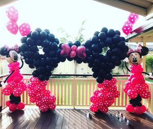 Minnie Mouse Arch Only Parties A Breeze