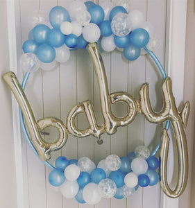Baby Shower Hoop