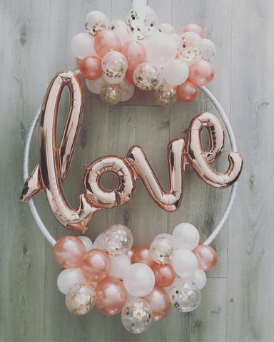 Love Hoop Garlands