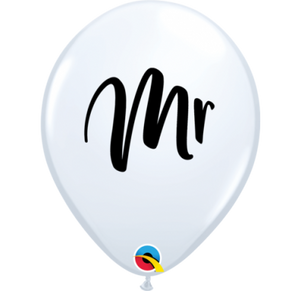 Mrs Print Standard latex Balloon