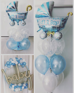 Baby Shower Carriage Arrangement