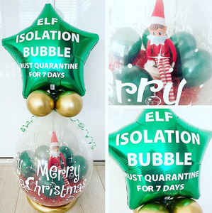 "Christmas ""Elf Isolation Bubble"" In-A-Balloon"